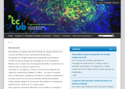 TCUB Universidad de Barcelona